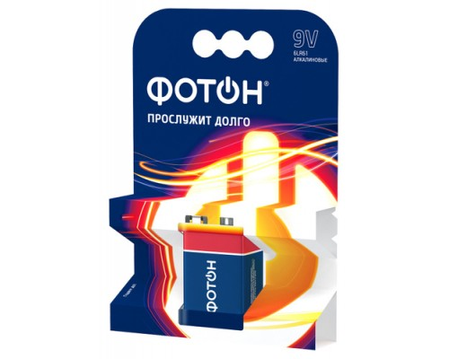 Батарейка ФОТОН 6LR61 ОP1